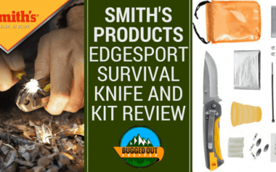 Smith's Products Edgesport Survival Knife and Kit Review