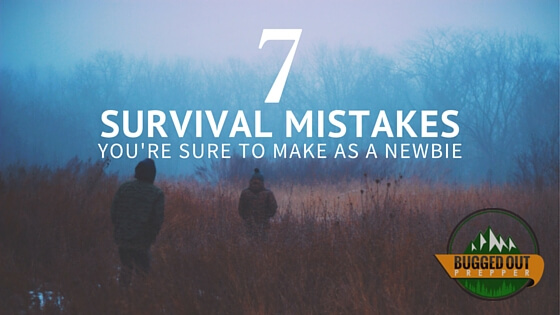 7 survival mistakes
