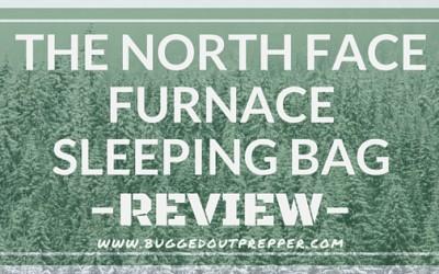 NORTH FACE FURNACE SLEEPING BAG