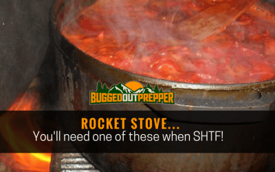 Rocket Stove… You'll need one of these when SHTF!