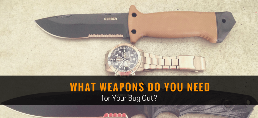 What Weapons do You Need for Your Bug Out?
